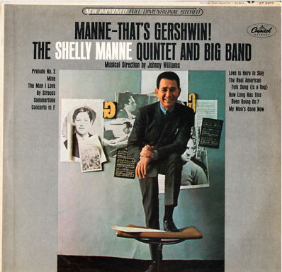 The Shelly Manne Quintet And Big Band ‎ Manne-That's Gershwin Vinyl
