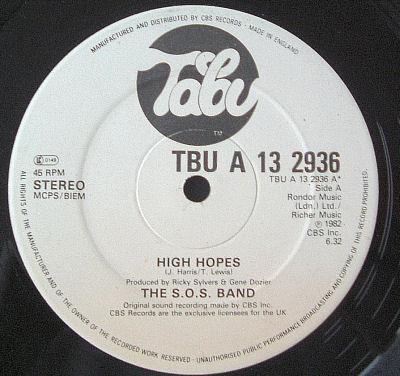 S.O.S. Band High Hopes