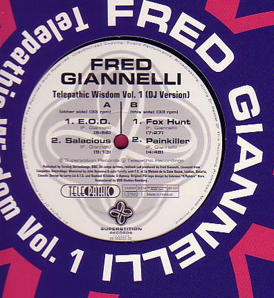 Giannelli, Fred Telepathic Wisdom Vol. 1