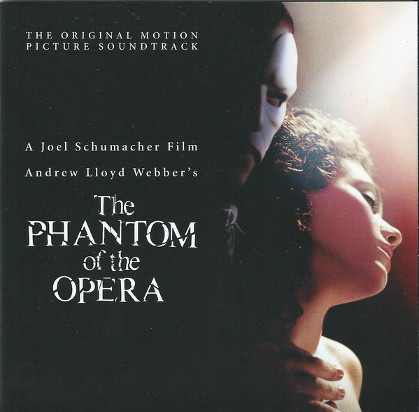 Andrew Lloyd Webber The Phantom Of The Opera: The Original Motion Picture Soundtrack CD