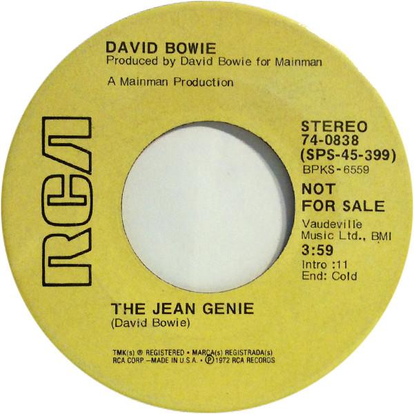 Bowie, David The Jean Genie Vinyl