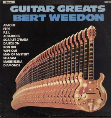 Weedon, Bert Guitar Greats Vinyl