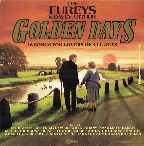 The Fureys & Davey Arthur Golden Days - 16 Songs For Lovers Of All Ages Vinyl