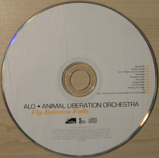 ALO * Animal Liberation Orchestra Fly Between Falls CD