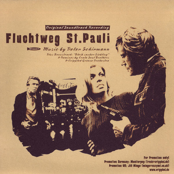Peter Schirmann Fluchtweg St. Pauli (Original Soundtrack Recording) Vinyl