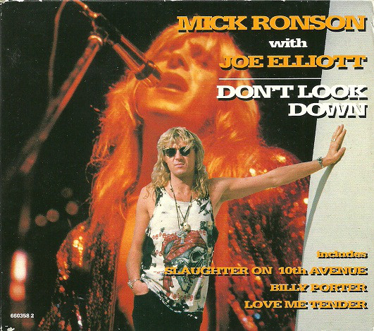 Mick Ronson with Joe Elliott Don't Look Down