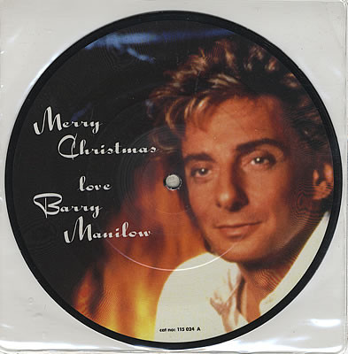 Manilow, Barry Merry Christmas Love Barry Manilow - Jingle Bells Vinyl
