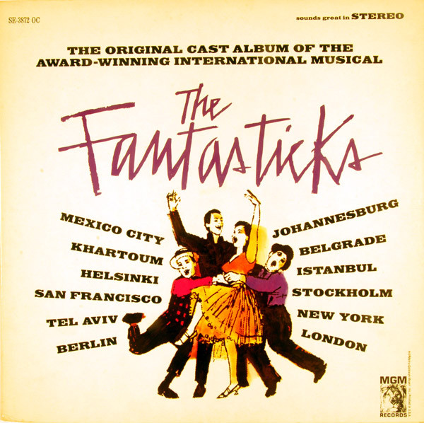 Original Cast, Kenneth Nelson Jerry Orbach The Fantasticks