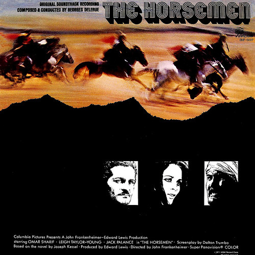 Georges Delerue  The Horsemen Vinyl
