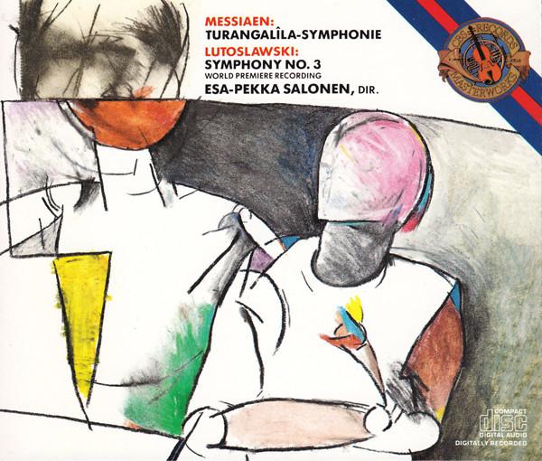 Messiaen / Lutoslawski - Esa-Pekka Salonen Turangalila-Symphonie / Symphony No. 3