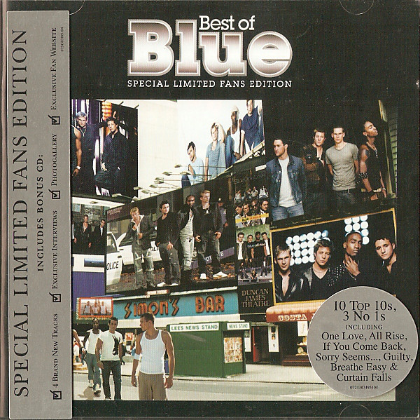 Blue The Best Of Blue Special Limited Fans Edition