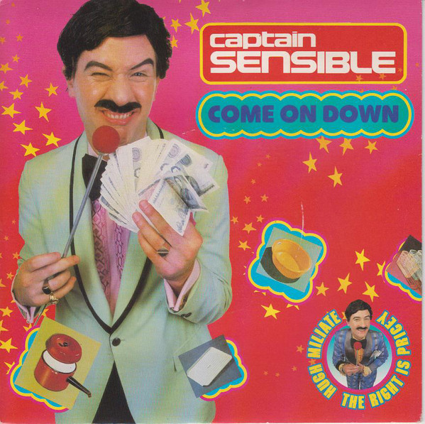 Captain Sensible Come On Down  Vinyl