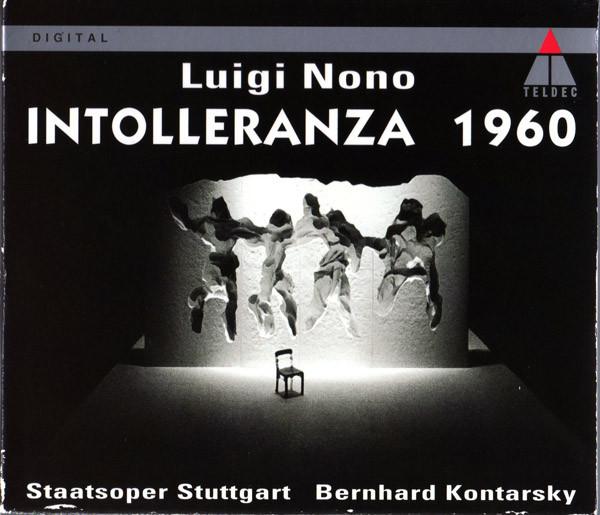 Nono - Staatsoper Stuttgart, Bernhard Kontarsky Intolleranza 1960 Vinyl