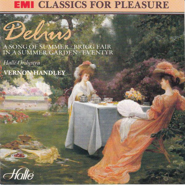 Delius - Vernon Handley A Song Of Summer, Brigg Fair, In A Summer Garden, Eventyr Vinyl