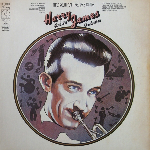 James, Harry The Beat Of The Big Bands Vinyl