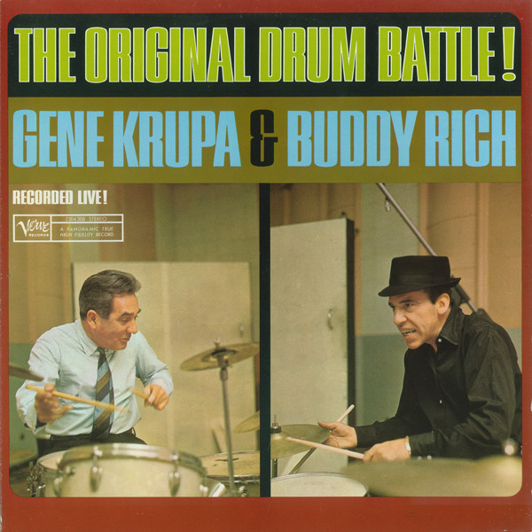 Gene Krupa & Buddy Rich The Original Drum Battle!