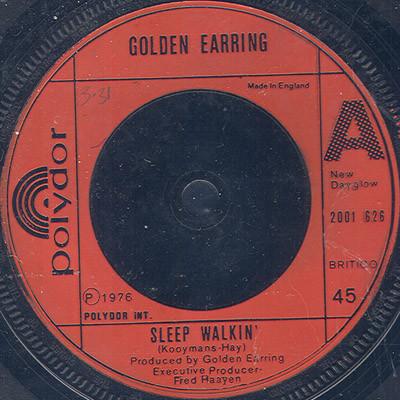 Golden Earring Sleep Walkin' Vinyl