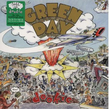 Green Day Dookie Vinyl