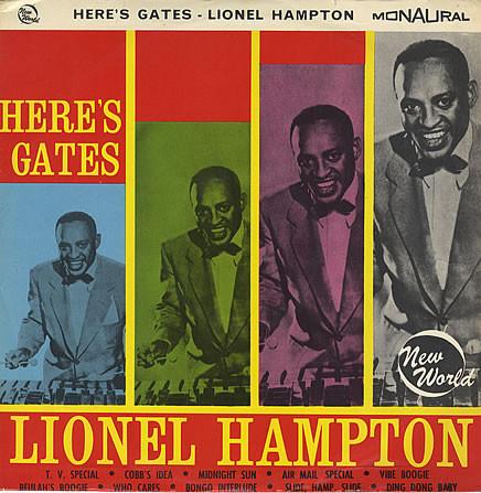 Hampton, Lionel Here's Gates Vinyl
