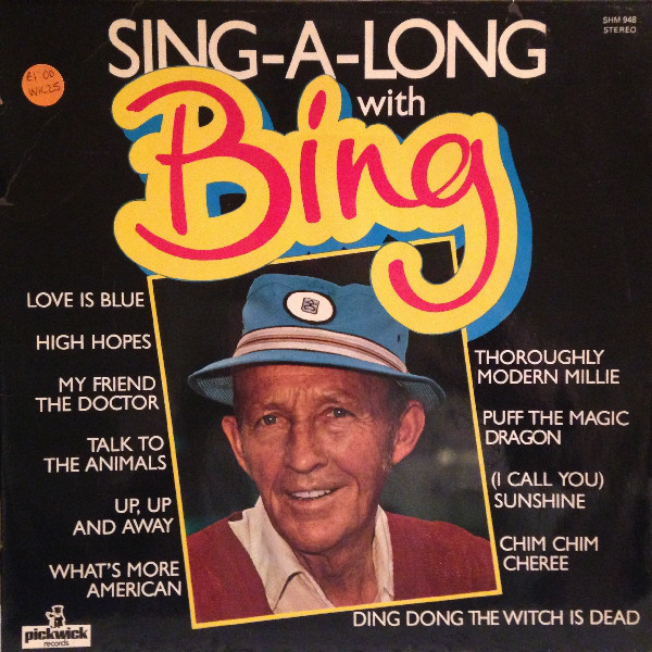 Crosby, Bing Sing-A-Long With Bing
