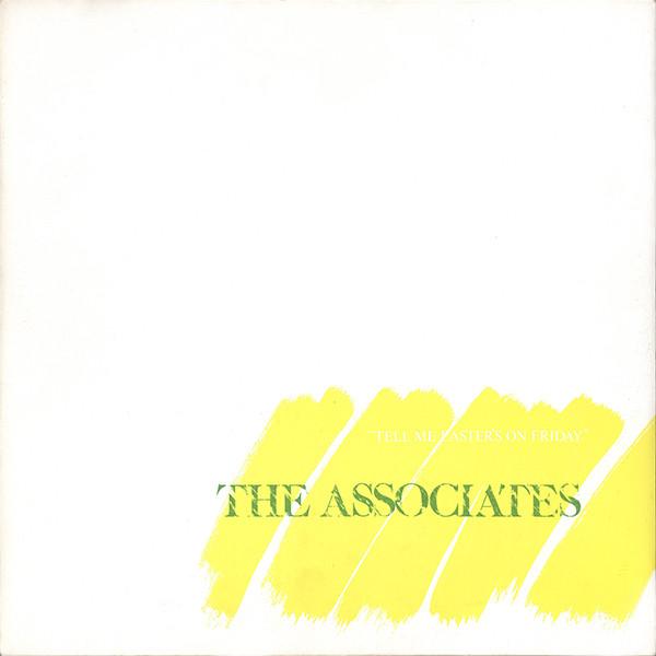 The Associates Tell Me Easter's On Friday Vinyl