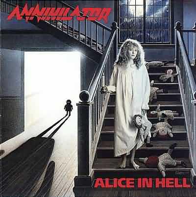 Annihilator Alice In Hell CD