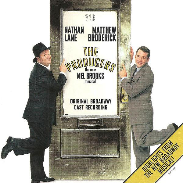 Various The Producers - The New Mel Brooks Musical - 3 Track Sampler