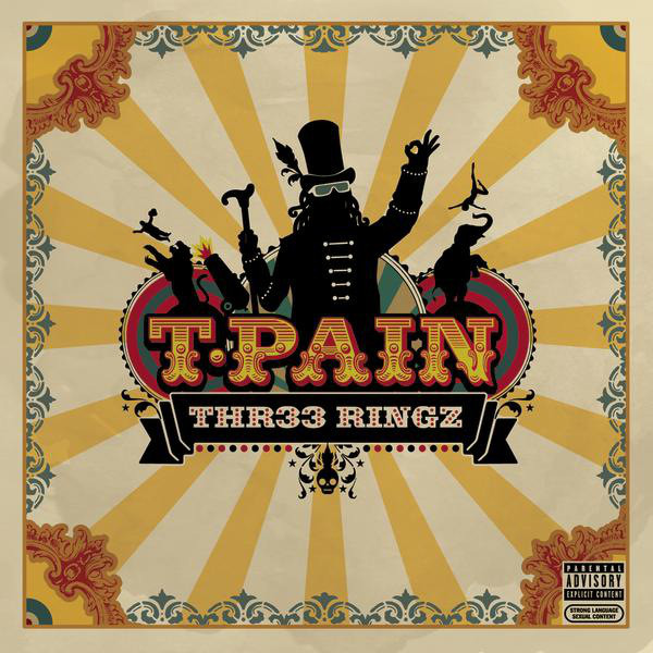 T-Pain Three Ringz CD