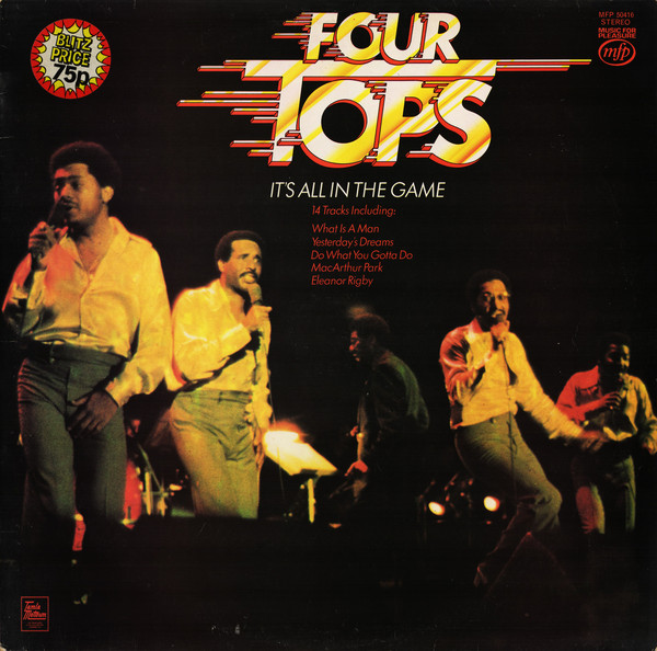 Four Tops It's All In The Game Vinyl