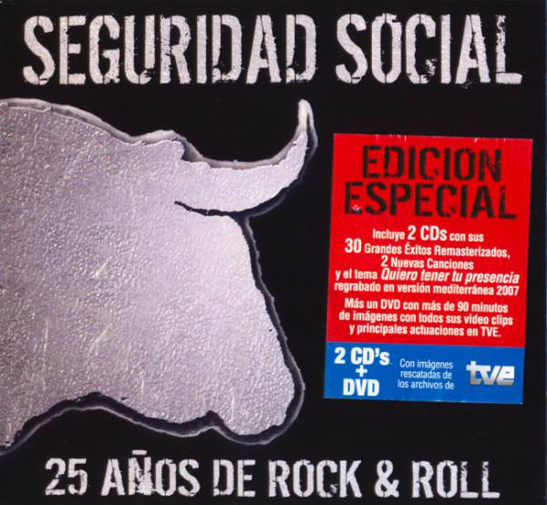 Seguridad Social 25 Anos De Rock & Roll CD