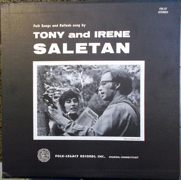 Saletan, Tony And Irene Tony And Irene Saletan Vinyl