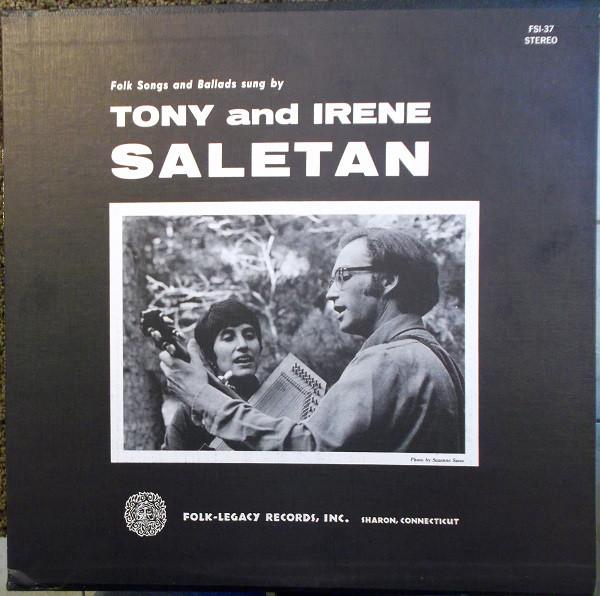 Saletan, Tony And Irene Tony And Irene Saletan