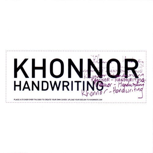 Khonnor Handwritting