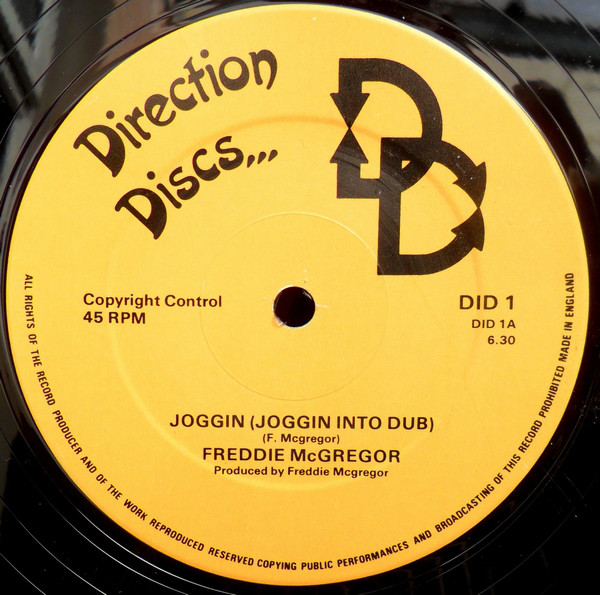Freddie McGregor Joggin / Mark Of The Beast Vinyl