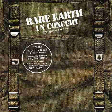 Rare Earth Rarae Earth In Cincert