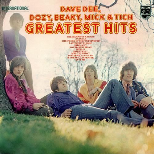 Dave Dee, Dozy, Beaky, Mick & Titch Greatest Hits Vinyl