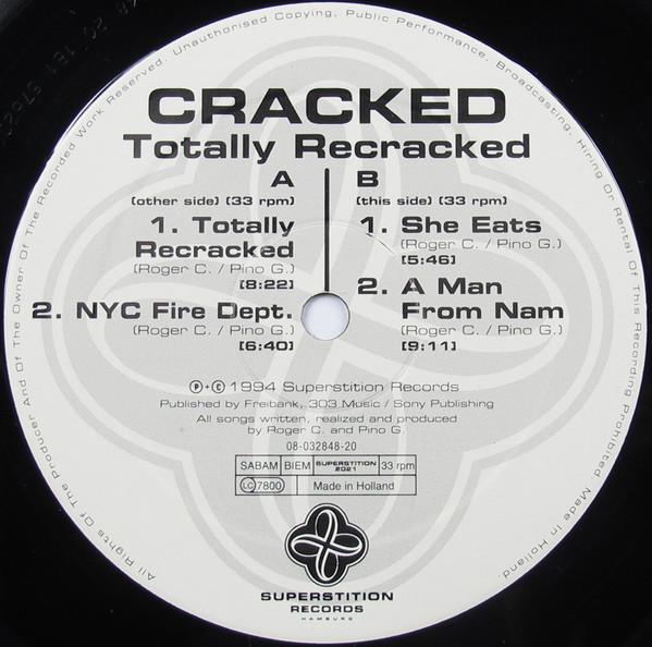 Cracked Totally Recracked Vinyl