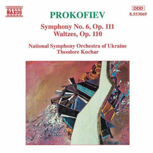 Prokofiev - Theodore Kuchar Symphony No. 6, Op. 111 / Waltzes, Op. 110 Vinyl