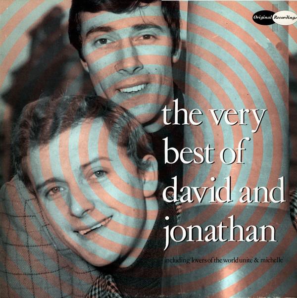 David And Jonathan The Very Best Of David And Jonathan Vinyl