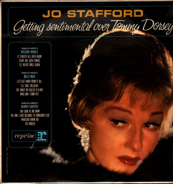 Jo Stafford Getting Sentimental Over Tommy Dorsey