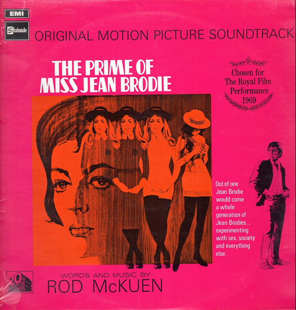 Rod McKuen The Prime Of Miss Jean Brodie: Original Motion Picture Soundtrack