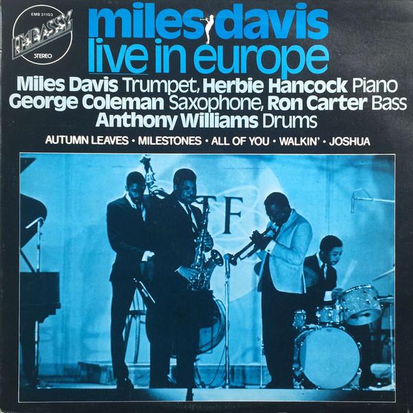 Davis, Miles Live In Europe Vinyl