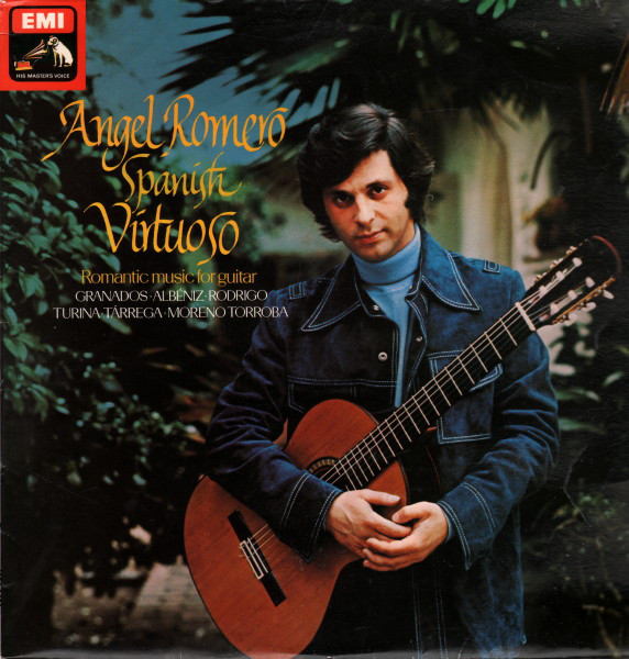 Romero, Angel Spanish Virtuoso - Romantic Music For Guitar Vinyl