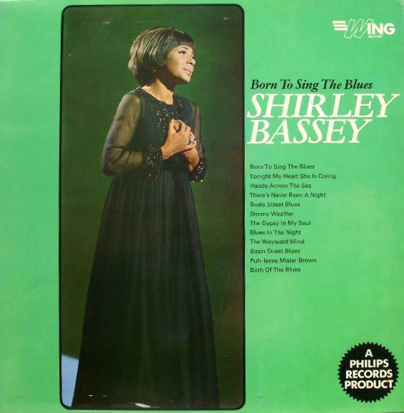 Bassey, Shirley Born To Sing The Blues Vinyl