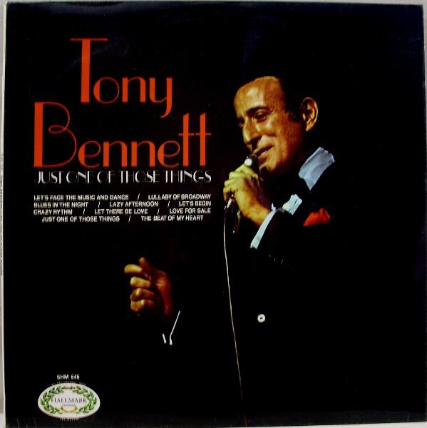 Bennett, Tony Just One Of Those Things Vinyl