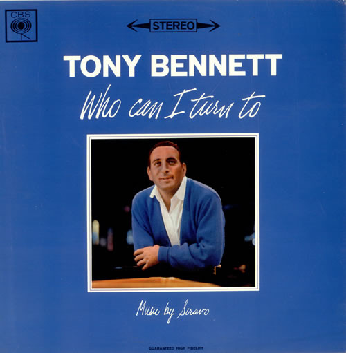 Bennett, Tony Who Can I Turn To Vinyl