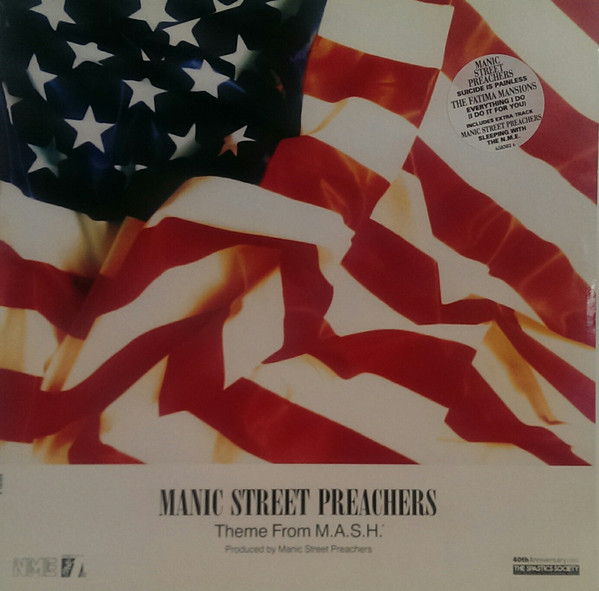 Manic Street Preachers Theme From M.A.S.H. Vinyl