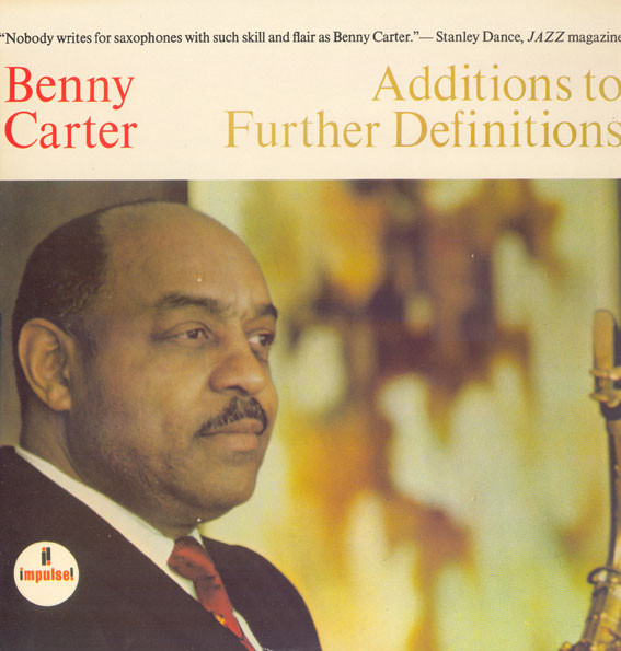 Carter, Benny Addittions To Further Definitions