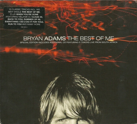 Adams, Bryan The Best Of Me