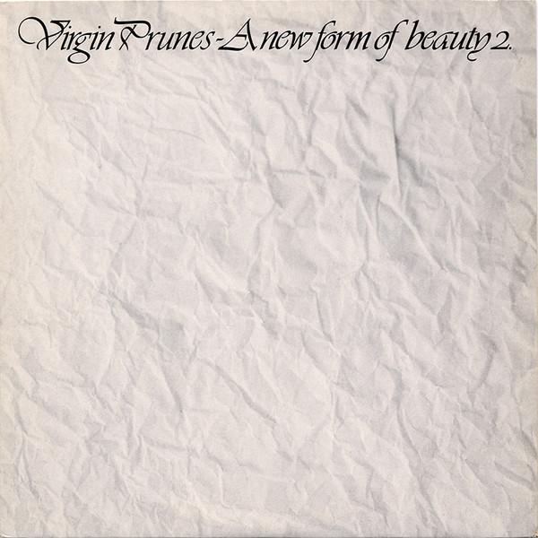 Virgin Prunes A new form of beauty 2. Vinyl